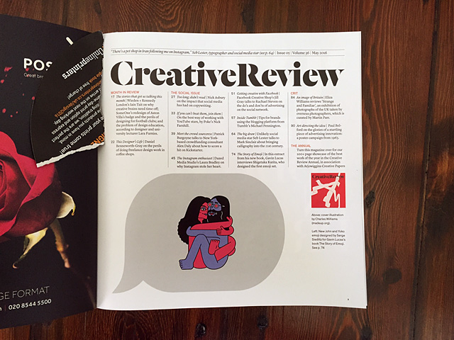 Creative Review, Creative Review, May issue, 25 April 2016