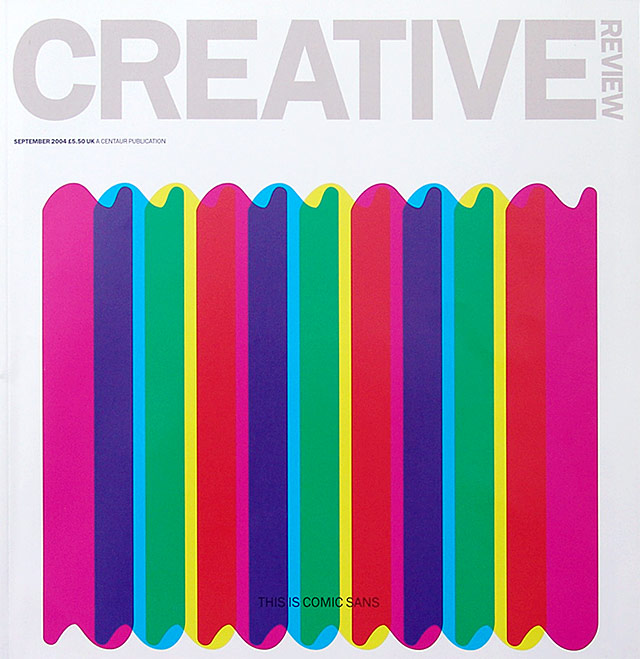 Creative Review cover 2004/09
