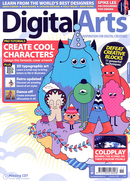 Digital Arts, November 2009