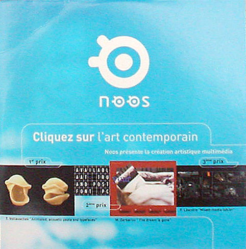 Noos winners / FIAC 2001 exhibition pack