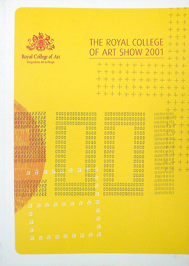 RCA, The Show catalogue, 2001